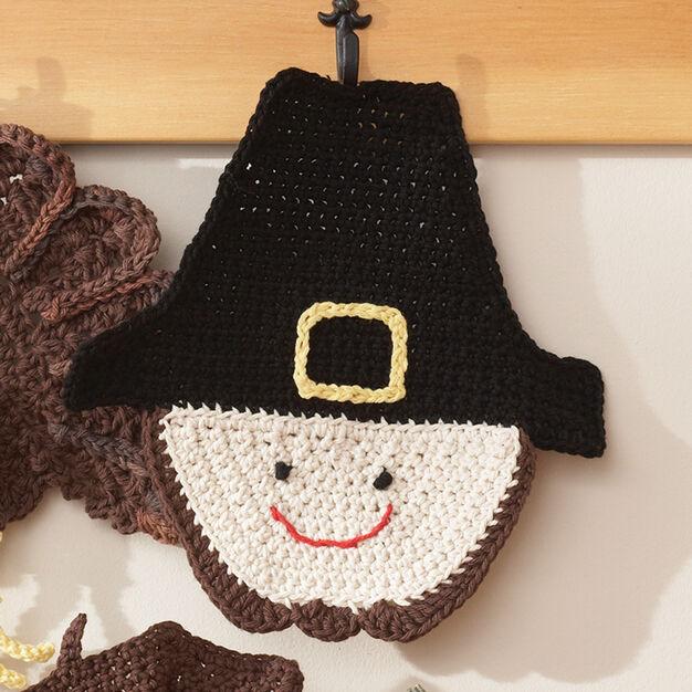 Lily Sugar'n Cream Sugar 'n Cream - Pilgrim Dishcloth (crochet)
