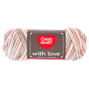 Go to Product: Red Heart With Love Yarn in color Mojave