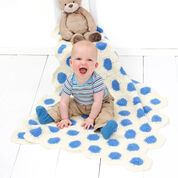 Go to Product: Red Heart Polka-Dot Baby Blanket in color