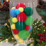 Go to Product: Red Heart Scrap Wrapped Holiday Balls in color