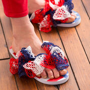 Go to Product: Red Heart Freedom Flip Flops in color
