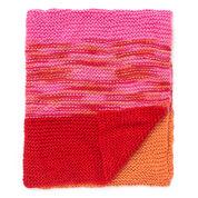 Bernat Garter Stripes Baby Blanket