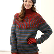 Go to Product: Bernat Yoke Pullover , XS/S in color
