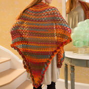 Red Heart Summer of Love Shawl