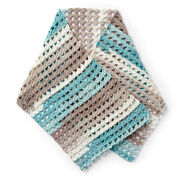 Caron Crochet Shell Shawl