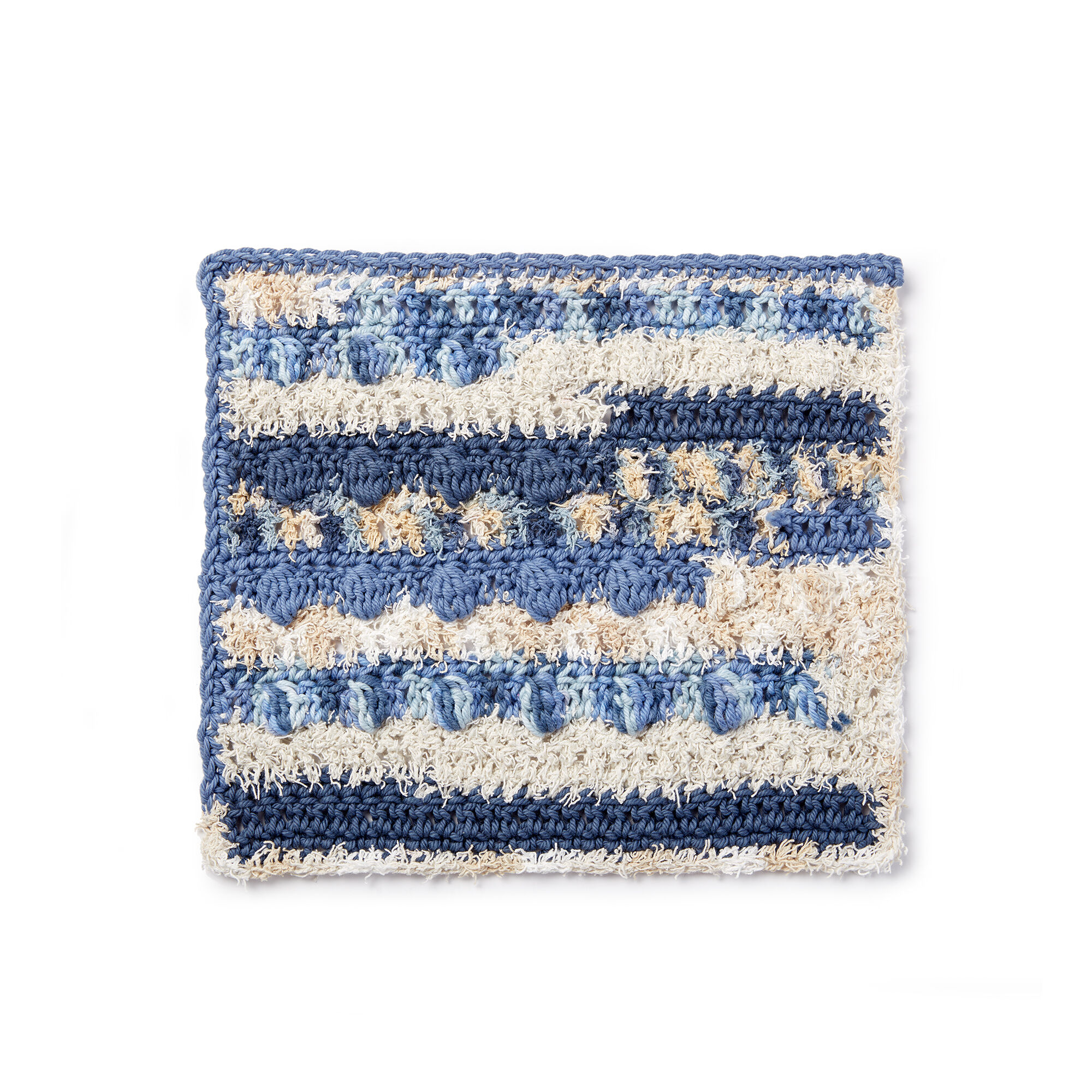 Lily Sugarn Cream Scrubbing Bobbles Crochet Dishcloth Pattern