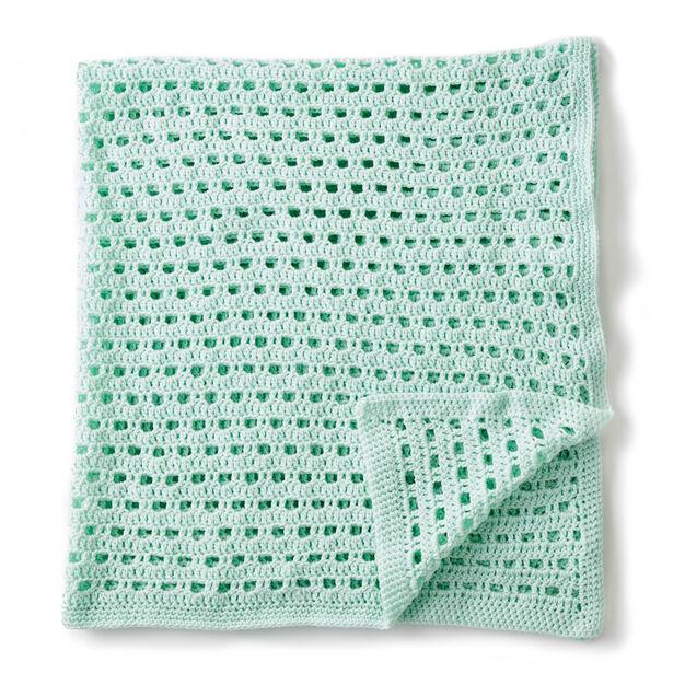 Bernat Crochet Happy Baby Blanket Yarnspirations