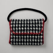 Patons Felted Houndstooth Bag