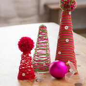 Go to Product: Red Heart DIY Cone Trees in color