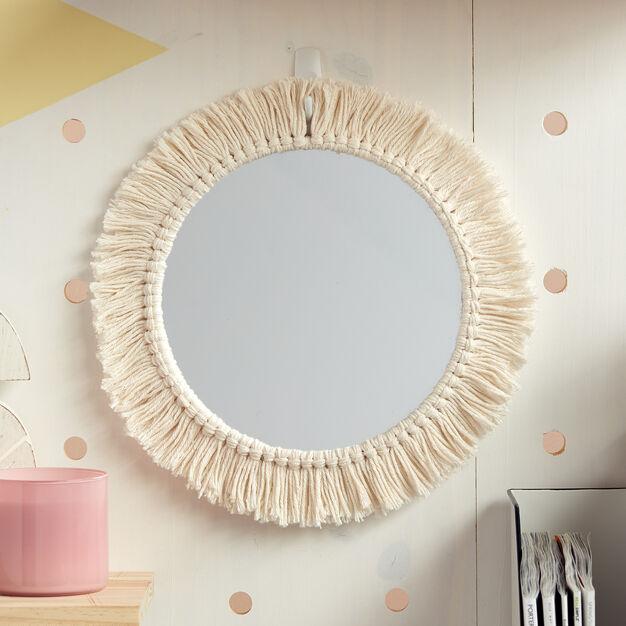 Lily Sugar'n Cream Reflected Fringe Hoop in color