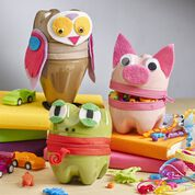 Go to Product: Coats & Clark Zipper Animal Containers in color