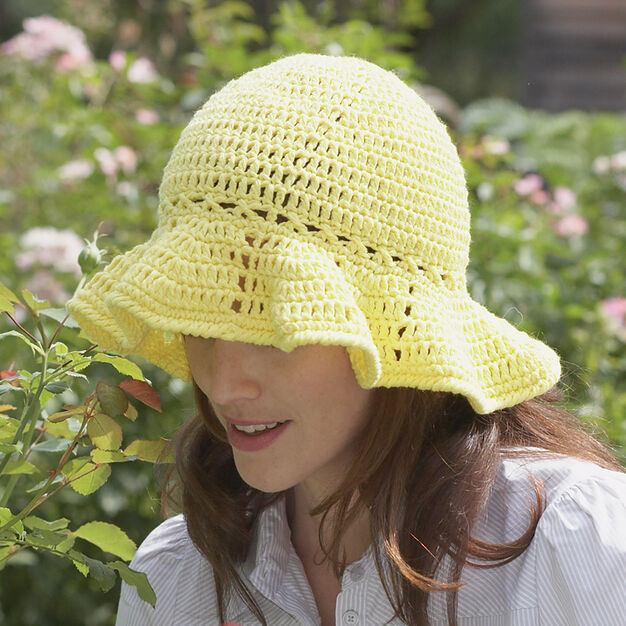 Lily Sugar'n Cream Sun Hat in color