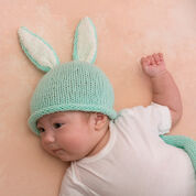Red Heart Cottontail Bunny Cocoon & Hat, Baby