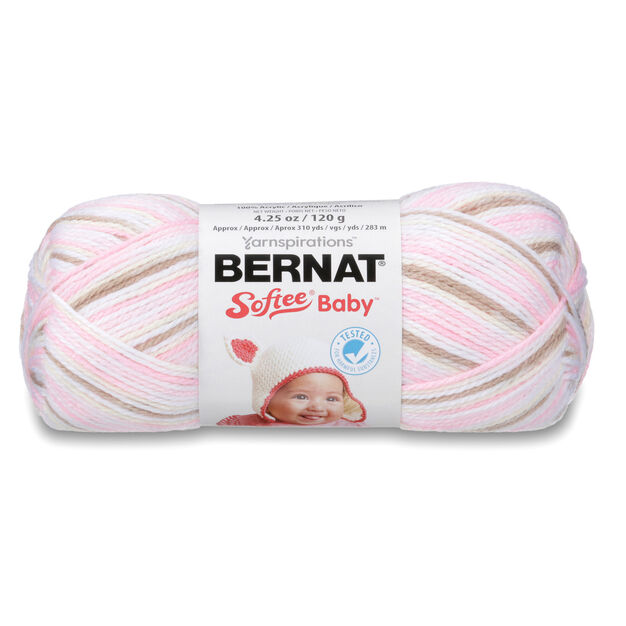 Bernat Softee Baby Variegates Yarn, Little Bo Peep Ombre - Clearance Shades*