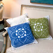 Red Heart Pretty Pillows