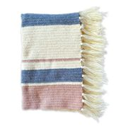 Go to Product: Red Heart Herringbone Mixed Stripes Crochet Throw in color