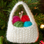 Go to Product: Red Heart Yarn Basket Ornament in color