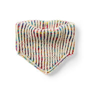 Go to Product: Red Heart Double Sided Brioche Knit Kerchief in color
