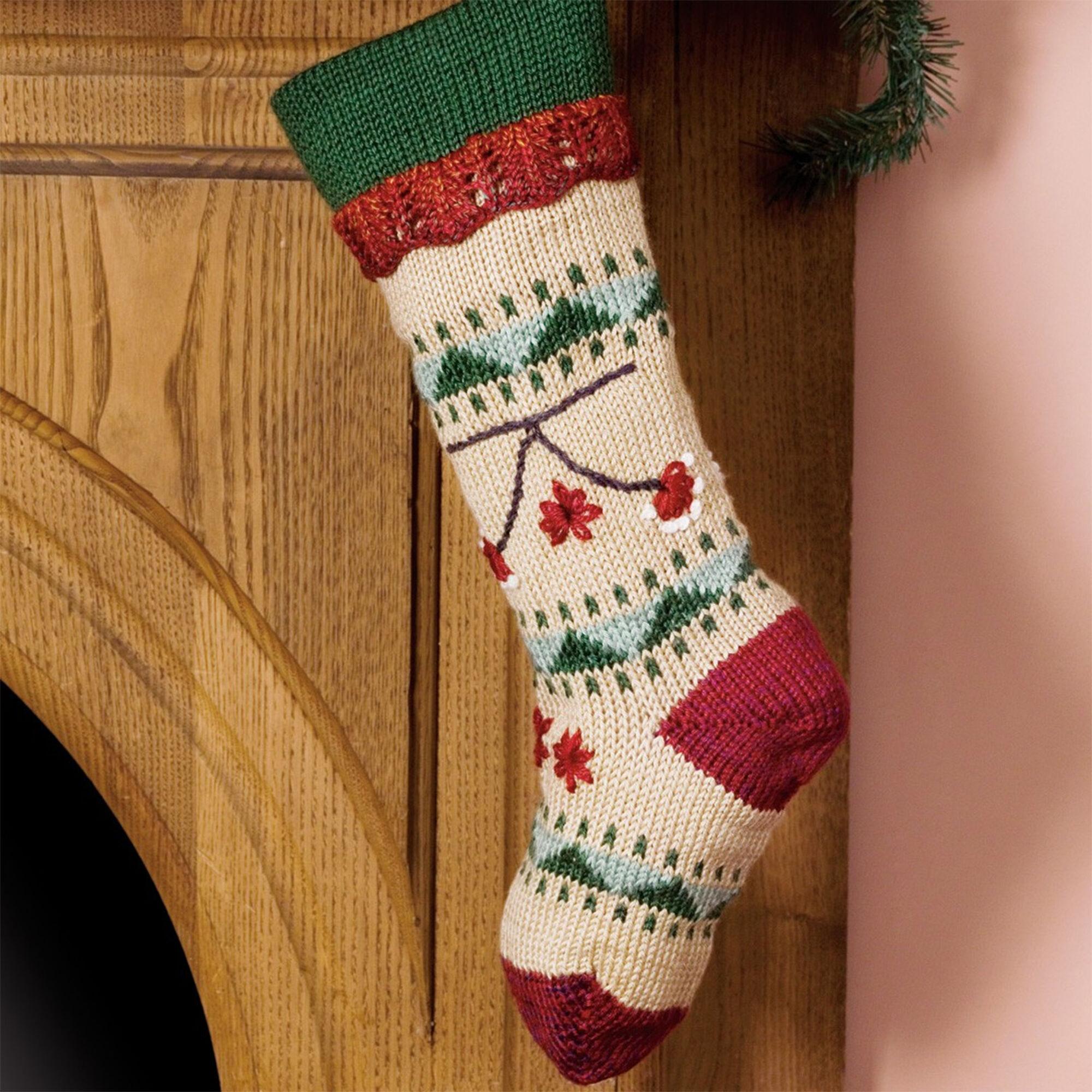 Caron Folkways Christmas Stocking | Yarnspirations