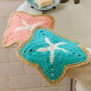 Red Heart Starfish Dishcloths