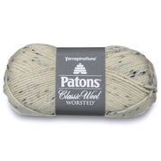 Patons Classic Wool Tweeds Yarn, Aran Tweed
