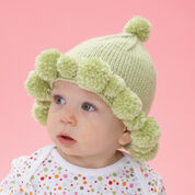 Go to Product: Bernat Pompom Baby Hat in color