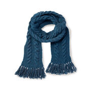 Patons Cable Knit Scarf