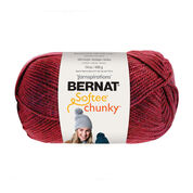 Go to Product: Bernat Softee Chunky Yarn (400g/14oz) in color Berry Red