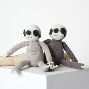 Go to Product: Red Heart Tree Sloth Buddies to Crochet in color