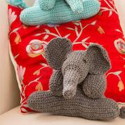 Red Heart Elephant Friends