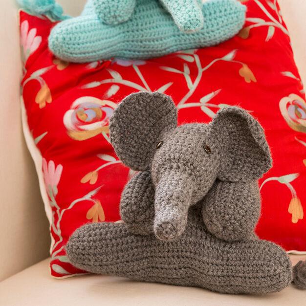 Little Bigfoot Elephant Video and Pattern | 626x626