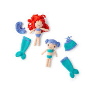 Go to Product: Red Heart Dia & Mia Mermaid in color