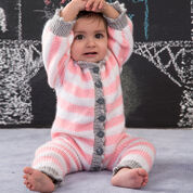 Red Heart Royal Knit Onesie, 0/3 mos