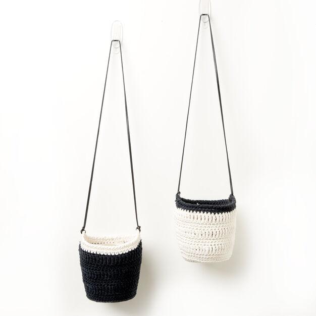 Lily Sugarn Cream Crochet Hanging Pot Cozy Version 1 Pattern