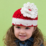 Go to Product: Red Heart Big Bloom Hat, Baby in color