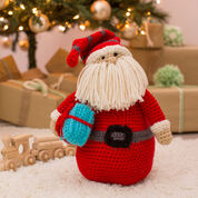 Red Heart Huggable Santa Pillow