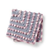 Go to Product: Bernat Poppin Crochet Baby Blanket in color