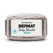 Bernat Baby Blanket Stripes Yarn, Sandbox
