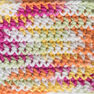 Lily Sugar'n Cream Super Size Ombres Yarn, Over the Rainbow in color Over the Rainbow