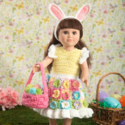 Go to Product: Red Heart My Doll's Easter Frock in color