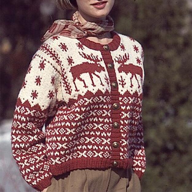 Patons Nordic Cardigan, S