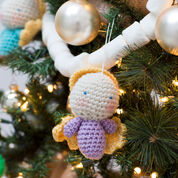 Go to Product: Red Heart Amigurumi Angel Ornaments in color
