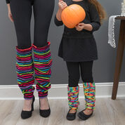 Go to Product: Red Heart Thigh High Knit Leg Warmers, Child XS in color