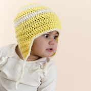 Red Heart Child's Crochet Earflap Hat