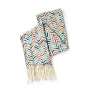 Go to Product: Red Heart Stripy Zig Zag Knit Scarf in color