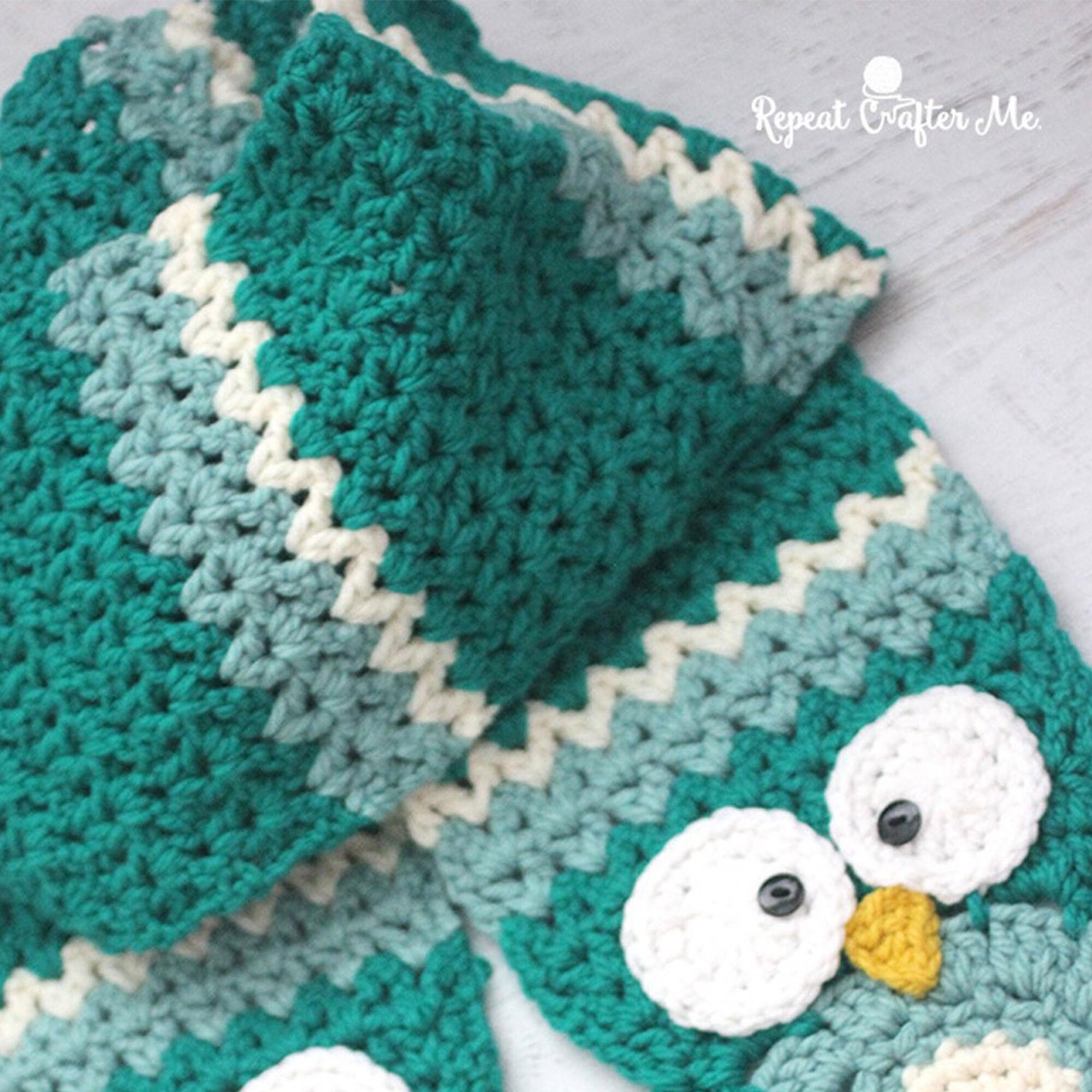 Bernat Owl Crochet Super Scarf   Yarnspirations