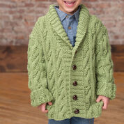 Red Heart Kid's Cable Cardigan, 2 yrs