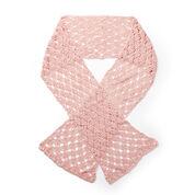 Patons Lattice Lace Crochet Wrap