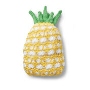 Bernat Juicy Pineapple Crochet Pillow