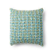 Bernat Basket Stitch Knit Pillow